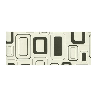 Heidi Jennings Cubes for Days Neutral Bed Runner