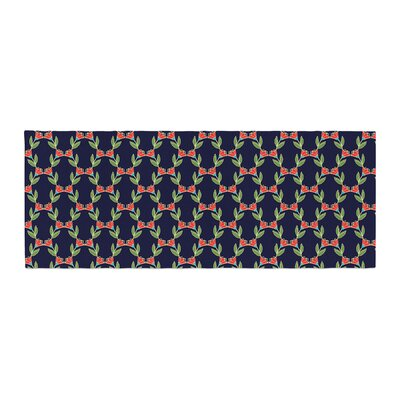 Holly Helgeson Midnight Vine Pattern Bed Runner