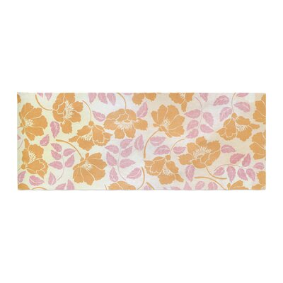 Heidi Jennings Sun Kissed Petals Bed Runner