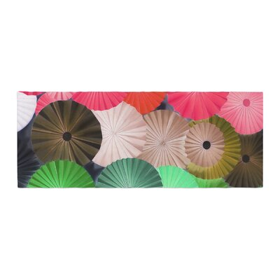 Heidi Jennings Parasol Paper Circle Bed Runner
