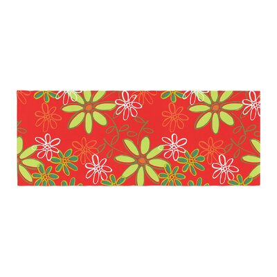 Holly Helgeson Daisy Mae Floral Bed Runner