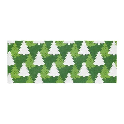 Heidi Jennnings Pine Forest Bed Runner