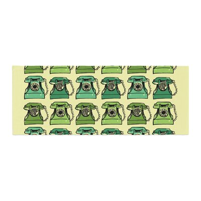 Holly Helgeson Grandmas Telephone Bed Runner