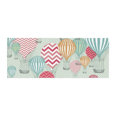 Heidi Jennings Hot Air Baloons Bed Runner