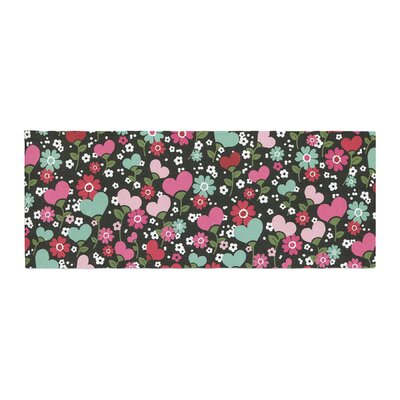 Heidi Jennings Love is Growing Bed Runner