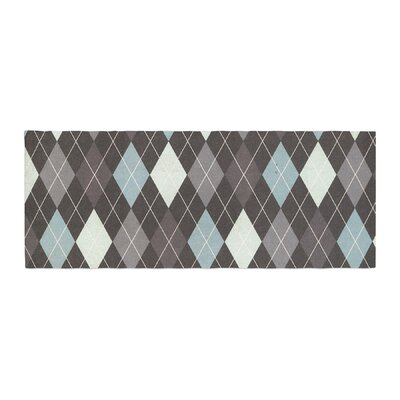 Heidi Jennings Argyle Bed Runner