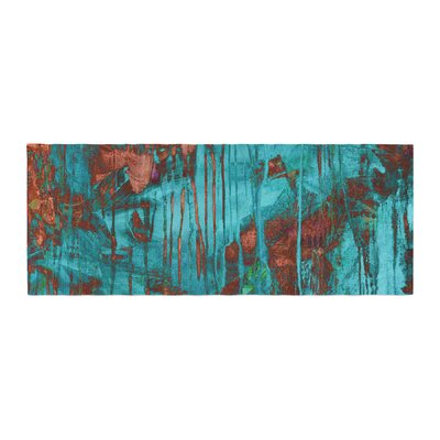 Iris Lehnhardt Rusty Paint Bed Runner