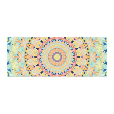 Iris Lehnhardt Flourish Circle Bed Runner