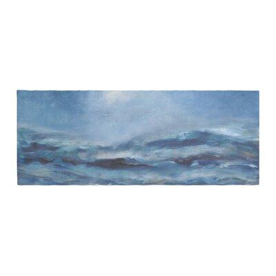 Iris Lehnhardt Rough Sea Ocean Bed Runner