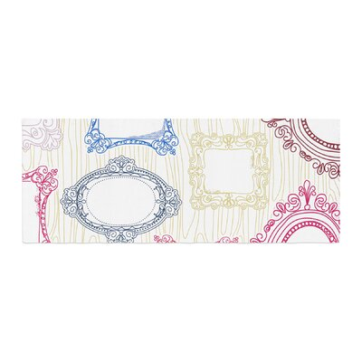 Heidi Jennings I've Been Framed Bed Runner
