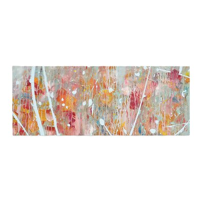 Iris Lehnhardt Joy Splatter Paint Bed Runner
