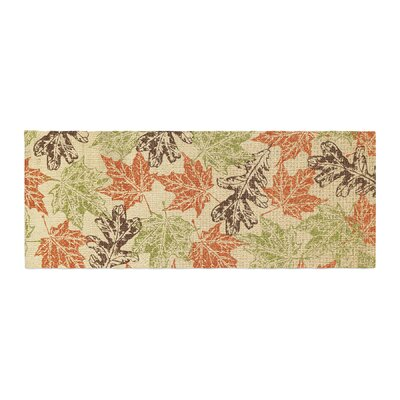 Heidi Jennings Leaf it to Me Bed Runner