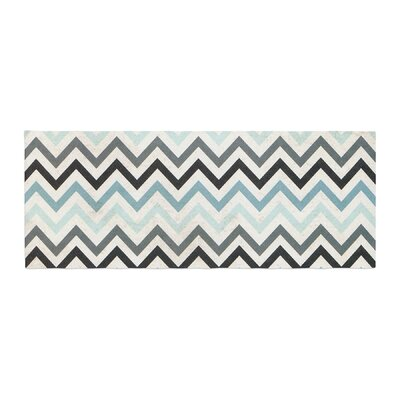 Heidi Jennings Chevron Bed Runner