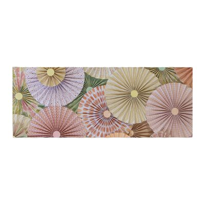 Heidi Jennings Spring Abstract Bed Runner