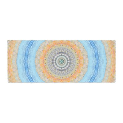 Iris Lehnhardt Summer Mandala Circle Bed Runner