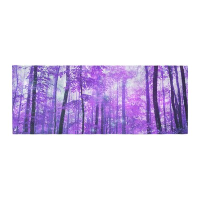Iris Lehnhardt Magic Woods Forest Bed Runner