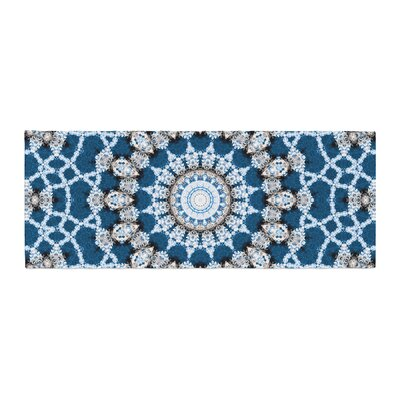 Iris Lehnhardt Mandala II Abstract Bed Runner