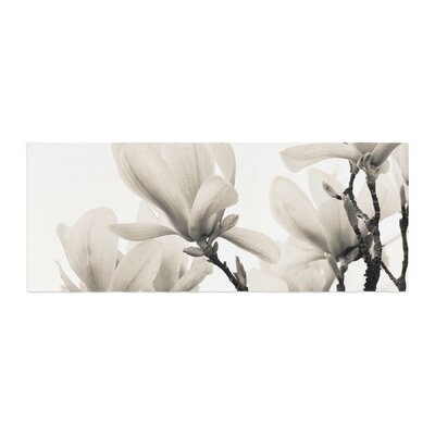 Iris Lehnhardt Magnolia Blossoms Floral Bed Runner