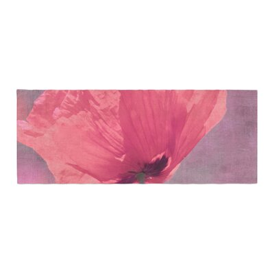 Iris Lehnhardt Poppy Flower Bed Runner