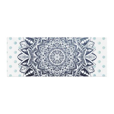 Nika Martinez Dots Mandala Illustration Bed Runner