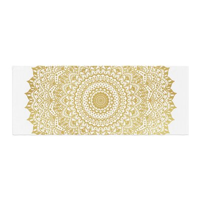 Nika Martinez Mandala Illustration Bed Runner