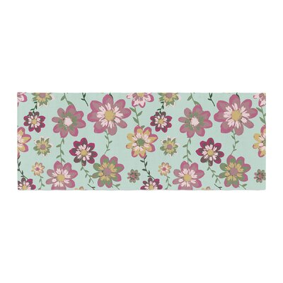 Nika Martinez Romantic Floral Bed Runner
