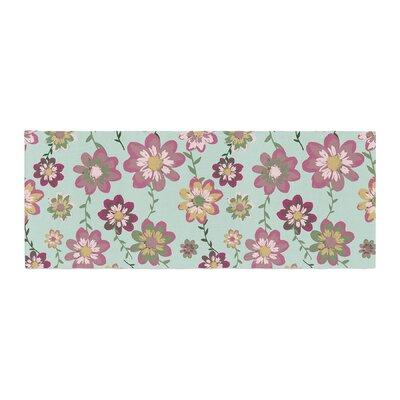 Nika Martinez Romantic Floral Bed Runner