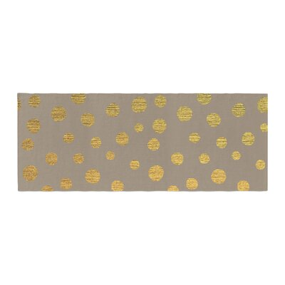 Nika Martinez Earth Dots Bed Runner