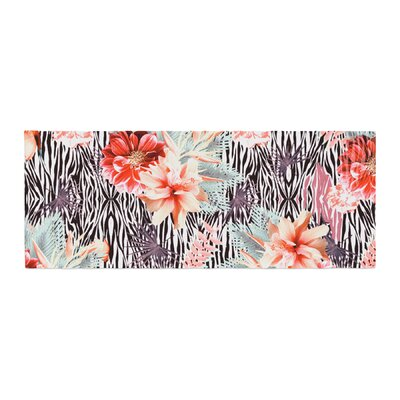 Nika Martinez Tropical Fusion Floral Bed Runner