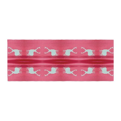 Nika Martinez Deer Tie Die Bed Runner