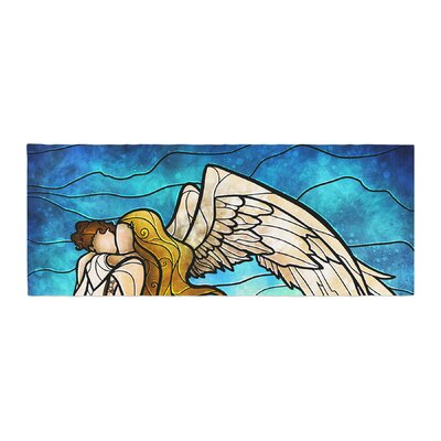 Mandie Manzano In the arms of the Angel Bed Runner