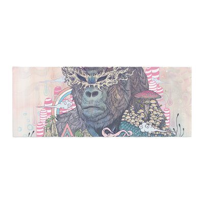 Mat Miller Ceremony Fantasy Gorilla Bed Runner