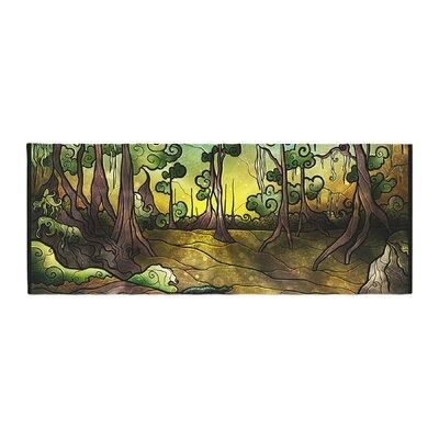 Mandie Manzano Aligator Swamp Bed Runner