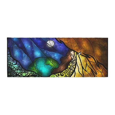 Mandie Manzano Psalms Bed Runner