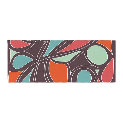 Miranda Mol Retro Swirl Bed Runner