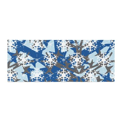 Miranda Mol Ice Topography Bed Runner