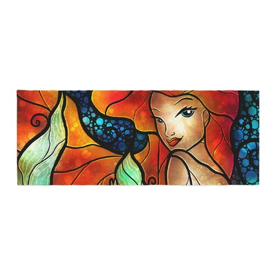 Mandie Manzano Ariel Mermaid Bed Runner