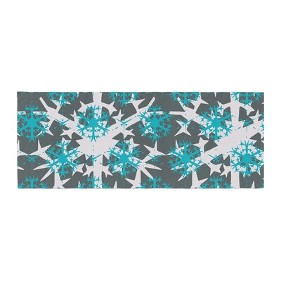 Miranda Mol Tree Snow Flakes Bed Runner