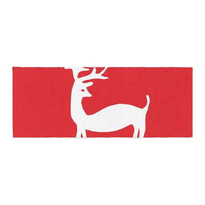 Miranda Mol Reindeer Holiday Bed Runner