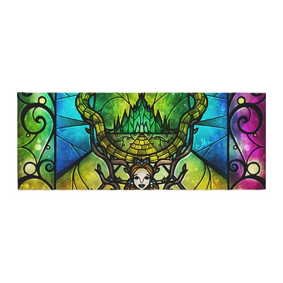 Mandie Manzano Wizard of Oz Fantasy Bed Runner