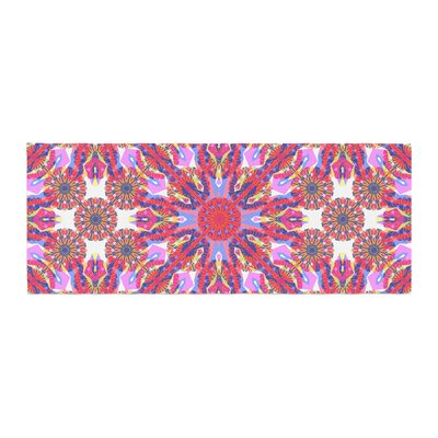 Miranda Mol Kaleidoscopic Floral Bed Runner