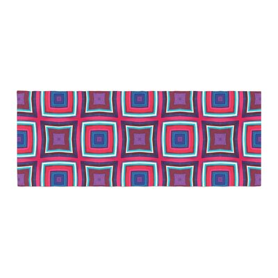 Miranda Mol Watercolor Blocks Checker Bed Runner