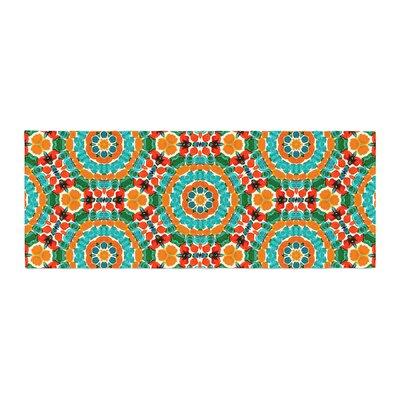 Miranda Mol Hexagon Tiles Pattern Bed Runner
