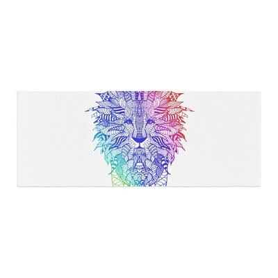 Monika Strigel Rainbow Lion Bed Runner
