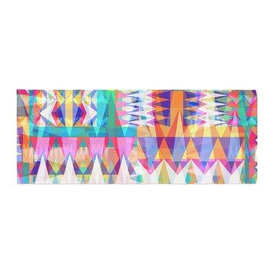 Miranda Mol Triangle Collage Geometric Bed Runner