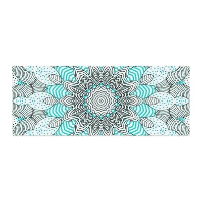 Monika Strigel Dots and Stripes Bed Runner Color: Mint