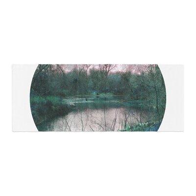 Micah Sager Swamp Lake Circle Bed Runner