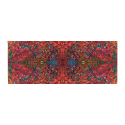 Nikposium Sea Abstract Bed Runner