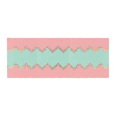 Monika Strigel Avalon Soft Chevron Bed Runner