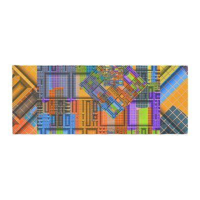 Michael Sussna Tile Rep Abstract Bed Runner